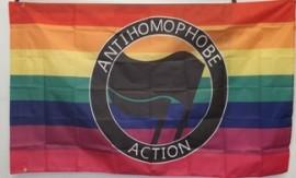 Anti-Homophobe Action Flag