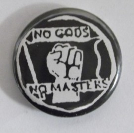 No Gods, No Masters (badge)